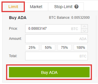 đăng ký tài khoản mua ADA