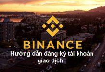 đăng ký binance